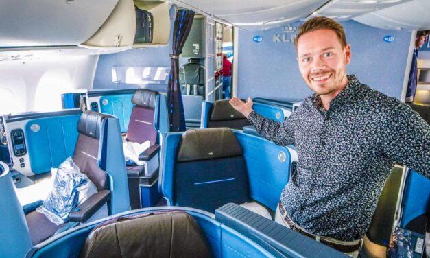 KLM Business Class 787-9 Dreamliner