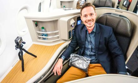 Wirklich? Eine First Class in der A321 von American Airlines!