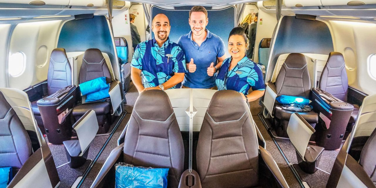 Aloha! Hawaiian Airlines First Class A330