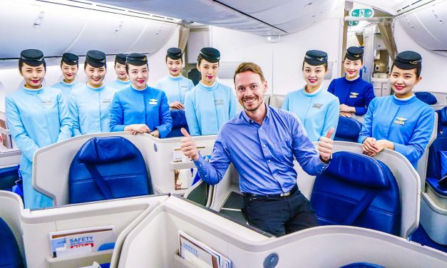 Xiamen Airlines Business Class 787-9