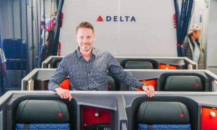 Delta ONE Business Class A350-900