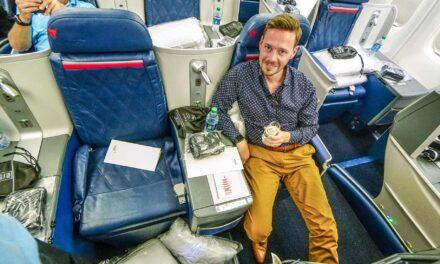 Delta Business Class Boeing 767