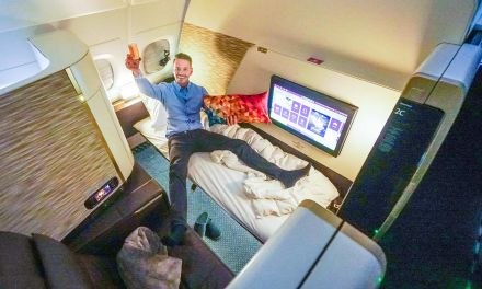 Etihad First Class Apartment Airbus A380