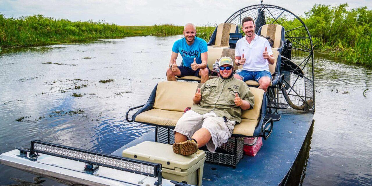 Alligatoren & Airboat in den Everglades am letzten Tag