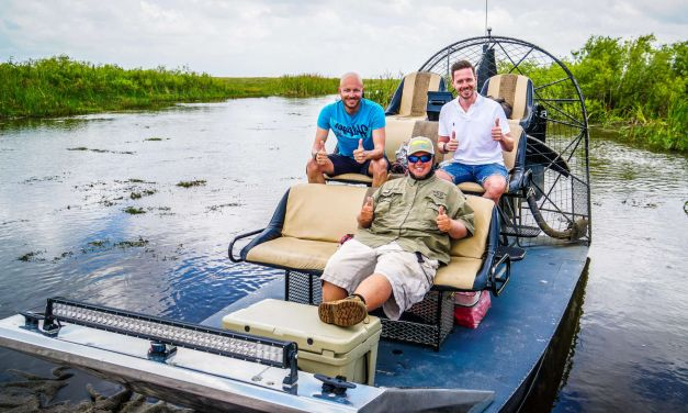 Alligatoren & Airboat in den Everglades am letzten Tag