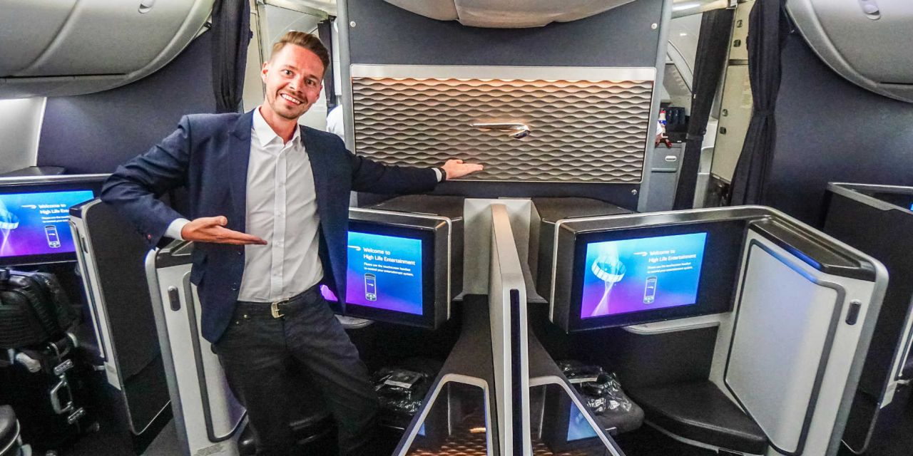 British Airways First Class Boeing 787-9 Dreamliner