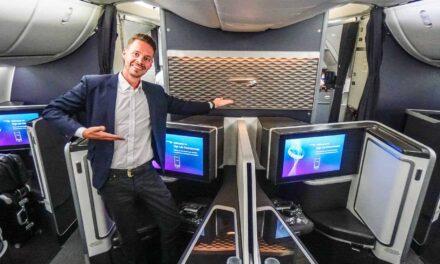British Airways First Class Boeing 787-9 Dreamliner