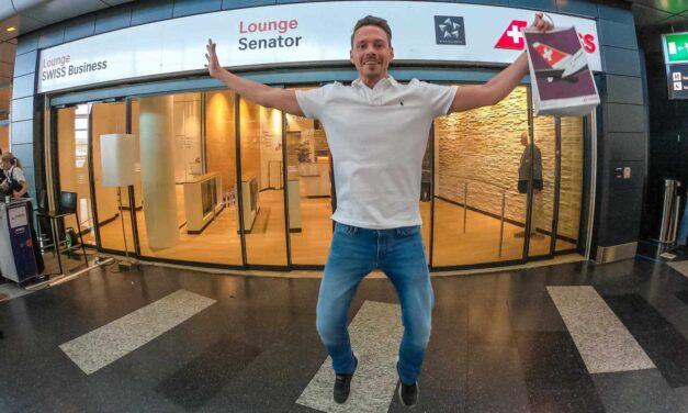 SWISS neue Lounge in Zürich und CS100 Business Class