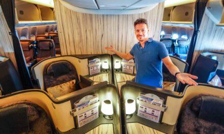 China Airlines Business Class 777-300ER FRA-TPE, überraschend gut!