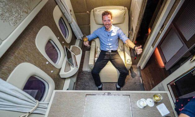 Luxus pur! Die neuen Emirates First Class Suiten, der Game Changer