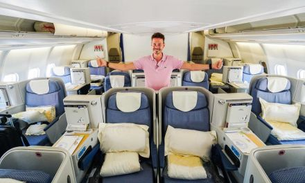 China Southern Airlines Business Class A330-300 AMS-CAN