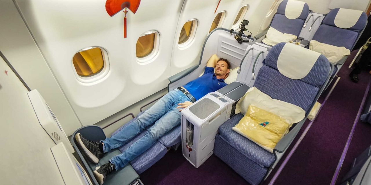 China Southern Airlines Business Class A330-200 CAN-PEK