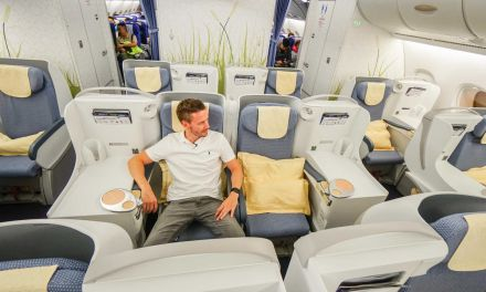 China Southern Airlines Business Class A380 PEK-AMS