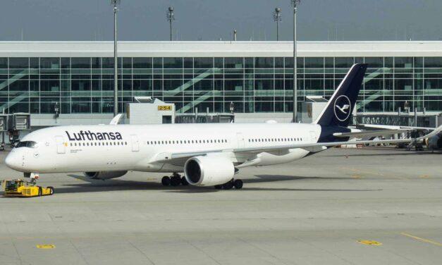 Lufthansa Premium Economy A350 MUC-ICN