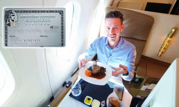 Nur noch bis Sonntag: American Express Platinum Karte mit 75.000 Punkten