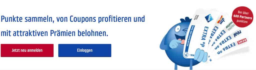 Screenshot © payback.de