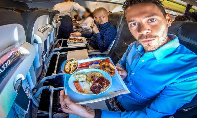 Lufthansa Business Class auf Kurzstrecke nach Frankfurt