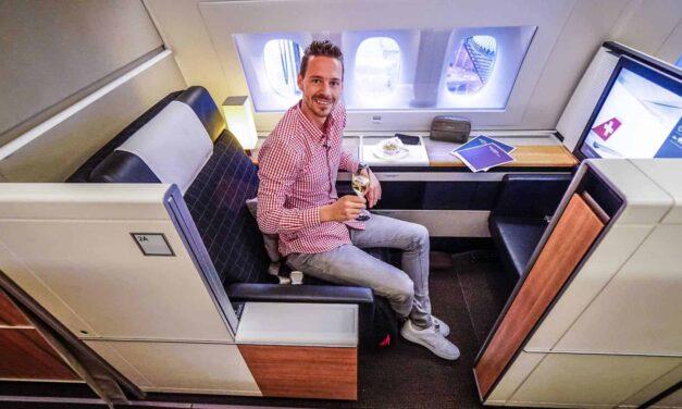 Schweizer Qualität, die SWISS First Class in der 777-300ER