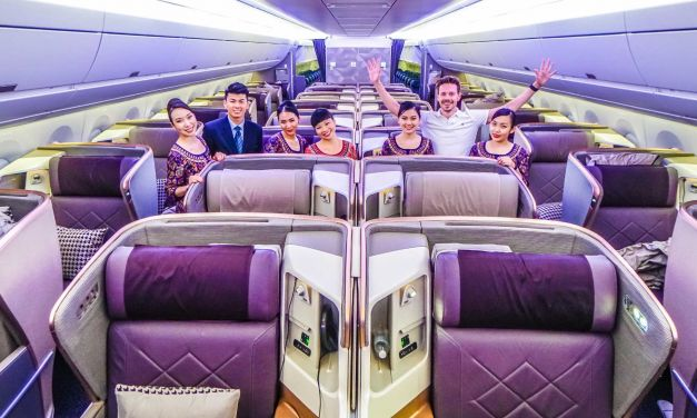 Der längste Flug der Welt! Singapur – New York 16.700km