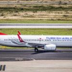 Turkish Airlines Economy Class Boeing 737 IST-HAJ