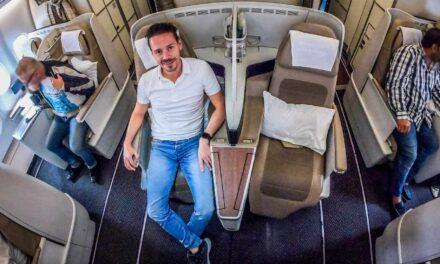 Keine gute Idee? Saudia Business Class A330