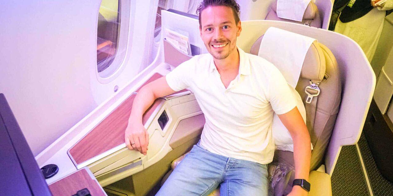 Die günstige Saudia Business Class 787 auf Langstrecke