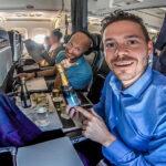 British Airways Business Class A319 von Zürich nach London