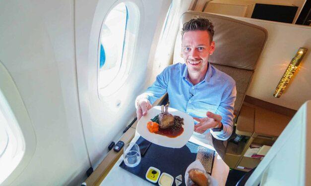 Etihad spart? Wir fliegen die Etihad Business Class 787-9