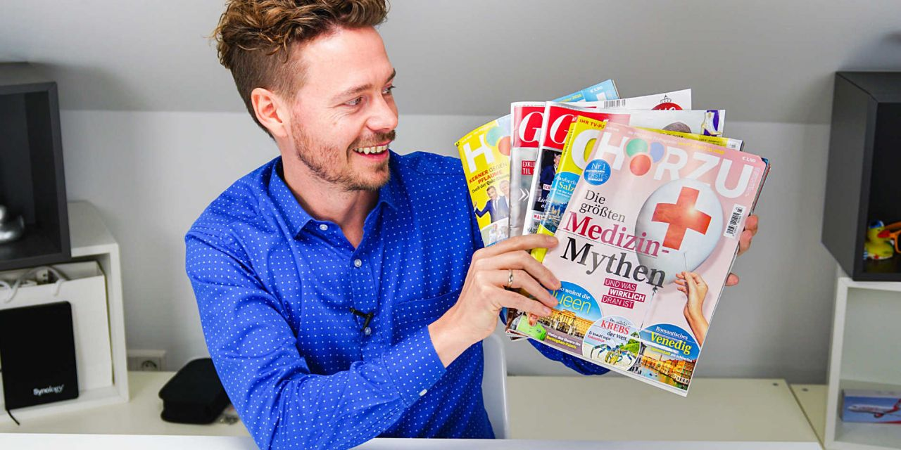 Mit Zeitschriften das Meilenkonto aufstocken, viele Meilen für wenig Geld!