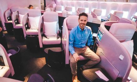 Air New Zealand Business Class 777-200ER AKL-SYD