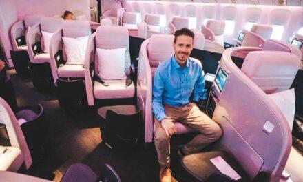 Air New Zealand Business Class 777-200ER AKL-SYD