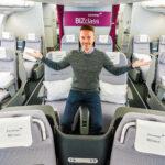 In der Eurowings BIZclass von New York nach Düsseldorf A330-300