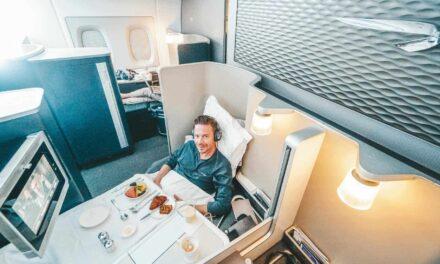 British Airways First Class A380 SFO-LHR