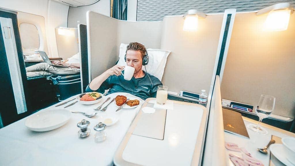 British Airways First Class A380