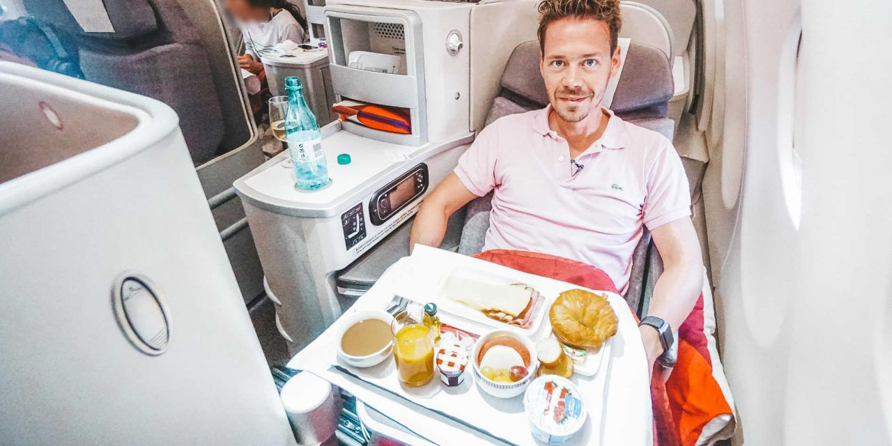 Iberia Business Class A330-200 LAX-MAD