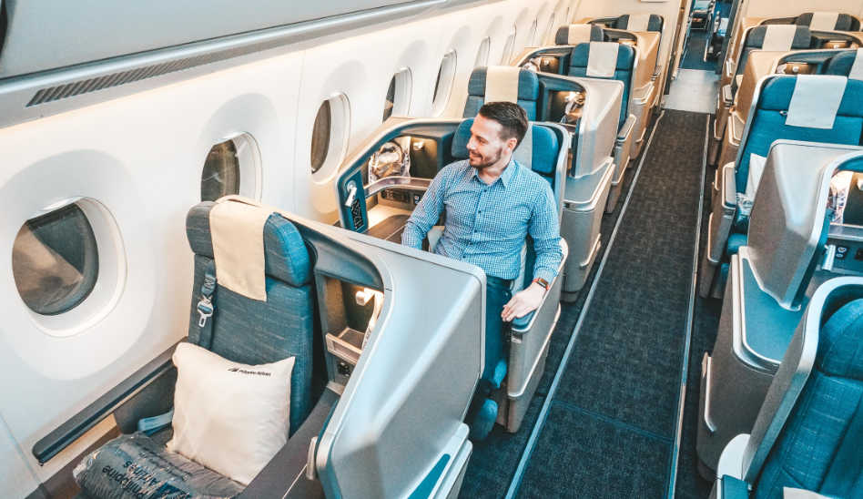 Einfach WOW! Die neue Philippine Airlines Business Class in der A350