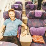 Mit Air China in Business Class in der A321 von Tokio nach Peking