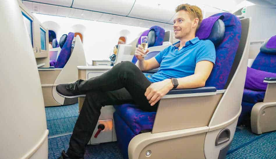 Besser als ihr Ruf! Air China Business Class 787-9
