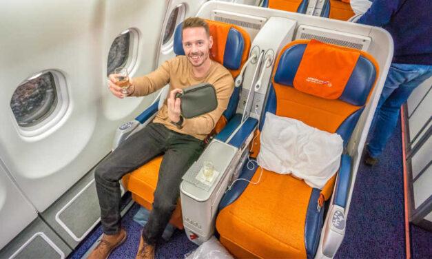 Mit der Aeroflot Business Class im A330 von Moskau nach Seoul