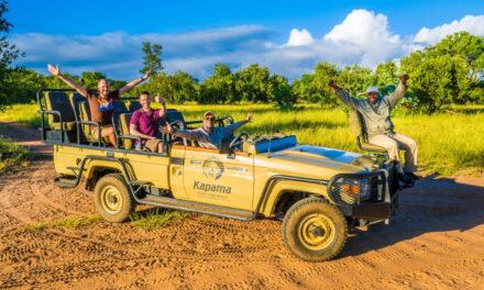 Zwischen wilden Tieren & Luxus – Safari im privaten Game Reserve