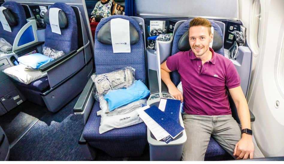 United Polaris Business Class 787-9 auf 11 Stunden Flug