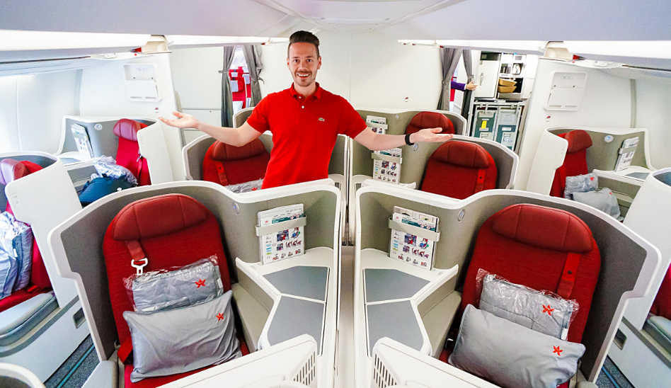 Große Klasse! Hongkong Airlines Business Class A350 auf Langstrecke