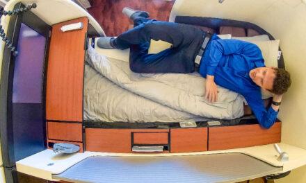 Wieder First! Japan Airlines First Class in der 777 nach Chicago