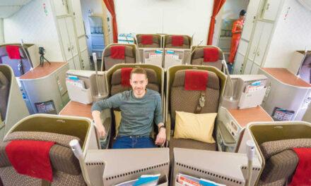 Eindrucksvoll! Die Garuda Indonesia Business Class in der 777