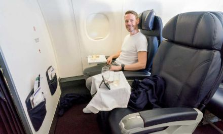 Aeromexico Business Class in einer Embraer 195
