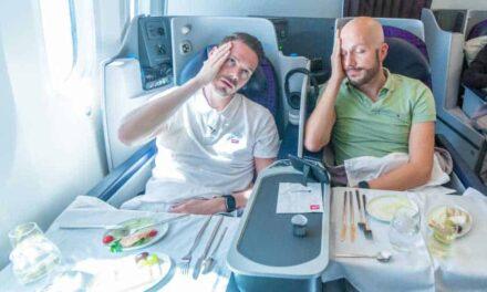 Aeromexico Business Class 787-8, das war nix!