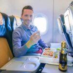 Mit der Alitalia Business Class in der A320 nach Rom