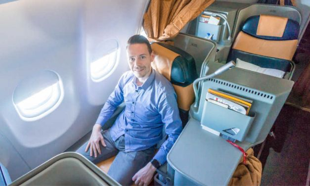 Alitalia Business Class auf Langstrecke in der A330
