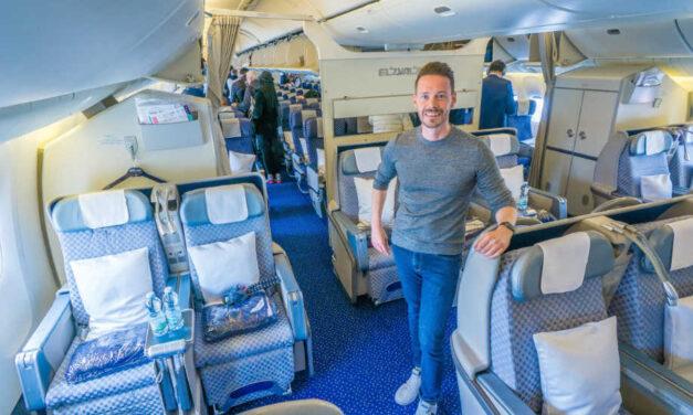 El Al Business Class 777-200ER