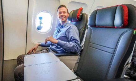 Nochmal! Mit der TAP Portugal Business Class in deren A320
